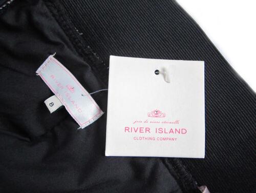Multicolore élastique River Island dentelles taille uk 8//10 entièrement doublés nouveau
