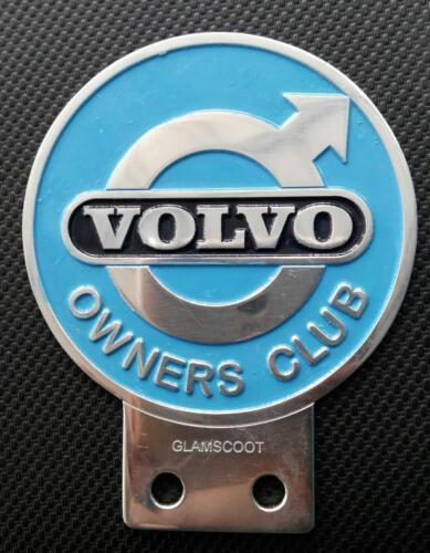 VINTAGE VOLVO OWNERS CLUB CAR BADGE