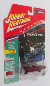 Johnny-Lightning-1-64-escala-jlsp-008-1961-Pontiac-Catalina-Coronado-Poly-Rojo