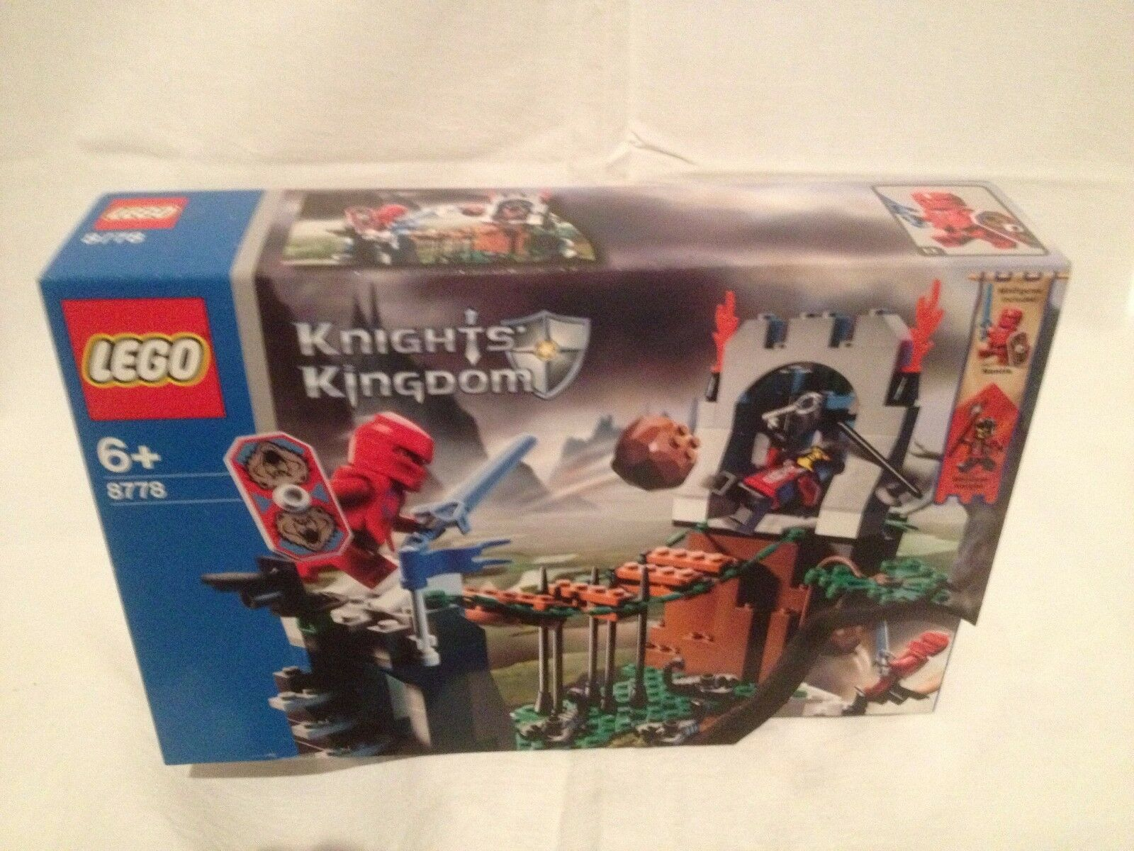 Lego Knights Kingdom 8778 Border Ambush NEUF 1 édition