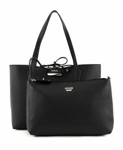 Details about NEW Guess Bobbi Inside Out Reversible Tote Donna Twin Bag Great Gift Idea