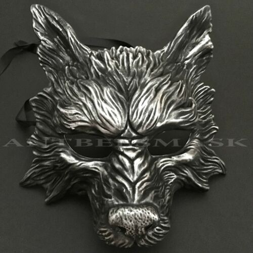 Masquerade Wolf Halloween Costume Haunted House Party Mask