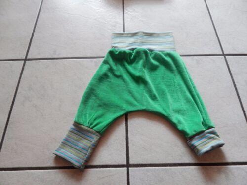 Mitwachshose Pumphose aus Nicki grün in verschiedenen Größen