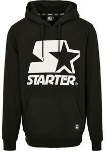 Starter Jersey Sweat à Capuche Hommes The Classique Logo Hoody Black