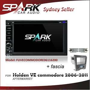 Details about CARPLAYER ANDROID AUTO GPS SAT NAV DVD IPOD BT FOR HOLDEN VE  COMMODORE 2006-2011