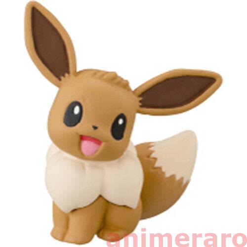 """EEVEE 1.5/"""" Let/'s Go Detective Pokemon Eevee Friends Collection Figure T-Arts"""