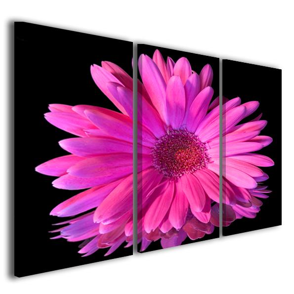 Stampe su tela fiori immagini decorazione murale lila flower quadro moderno