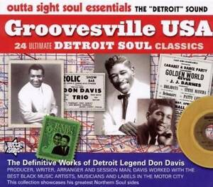 GROOVESVILLE-USA-Various-Artists-NEW-amp-SEALED-NORTHERN-SOUL-CD-OUTTA-SIGHT