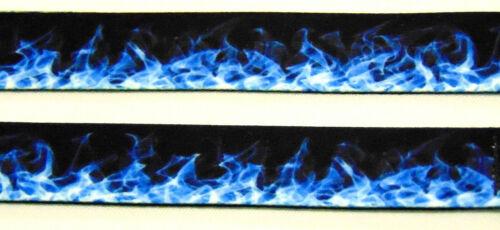 Flammes Bleues 20 mm Neck Strap Lanyard for ID /& clés GRATUIT UK ENVOI