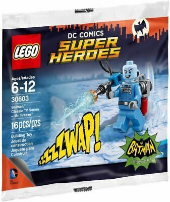 FREEZE DC comics Super Heroes mister ice LEGO 30603 BATMAN Classic TV Series MR