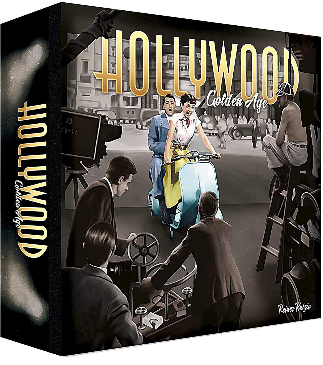 HOLLYWOOD GOLDEN AGE – JUEGO DE MESA - COOPERACIÓN, INVESTIGACIÓN, NUEVO ASMODEE