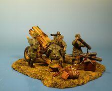 ORIG. Lineol (Elastolin) Wehrmacht – diorama nebelwerfer – 7cm serie