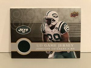 2008 Upper Deck First Edition UD Game Jersey #FGJ-CO Jerricho ...