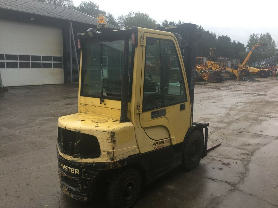 Gaffeltruck, Hyster H2.5FT-D