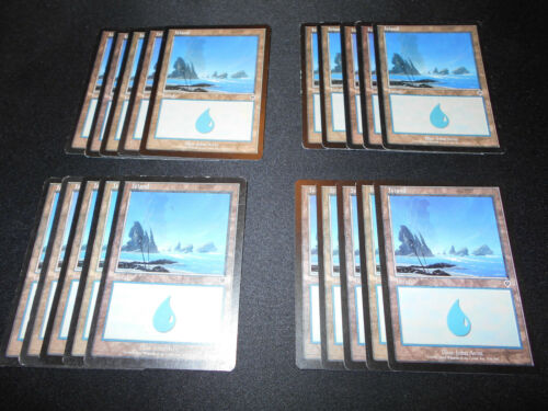 20 Basic Land #336 Invasion Magic MTG FTG MP-NM Island SAME ART