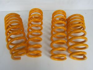 HOLDEN COMMODORE VX V8 F/&R SUPER LOW COIL SPRINGS