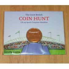 London 2012 Olympic 50p Completer Medallion Medal Coin Hunt Sports Album Folder