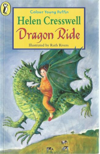 1 of 1 - Colour Young Puffin - Helen Cresswell - Dragon Ride - paperback 1999