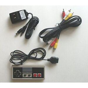 NES-Original-NES-Hookup-Kit-AC-Adapter-Power-Cord-AV-Cable-For-Nintendo-4Z