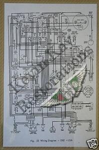 aston martin db2 usa enlarged laminated wiring diagram ebay rh ebay co uk aston martin db7 wiring diagram aston martin db4 wiring diagram