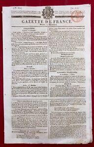 Demimiud-a-Chaumont-en-1816-Haute-Marne-Guadeloupe-Bordeaux-Gazette-de-France
