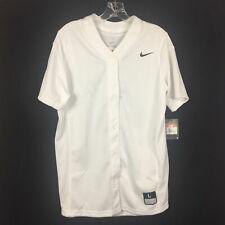Nike Stock Vapor Pro Full Button Softball Game Jersey Women M L XL Black 881248
