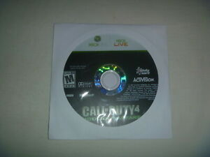 Call-Of-Duty-4-Modern-Warfare-2007-XBox-360-Game-Disc-Only-No-Case-Or-Manual