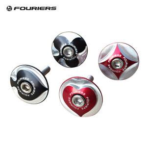 Bike-Stem-Top-Cap-Headset-Fork-Cover-Poker-Logo-28-6mm-1-1-8-034-Steerer-Fouriers