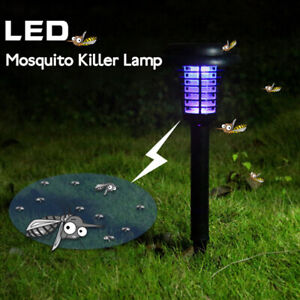 Solar-Powered-Outdoor-Mosquito-Fly-Bug-Insect-Zapper-Killer-Trap-Lamp-Light-US