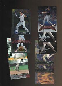 David-Justice-Baseball-23-Card-Lot-Braces-Score-Fleer-Topps