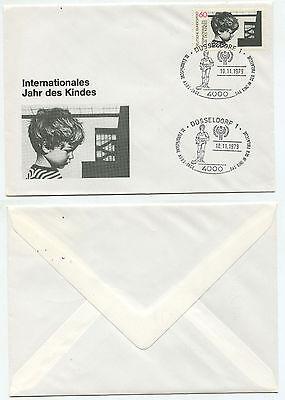08799 - Sonderstempel: Düsseldorf 10.11.1975 - Das Kind In Der Philatelie