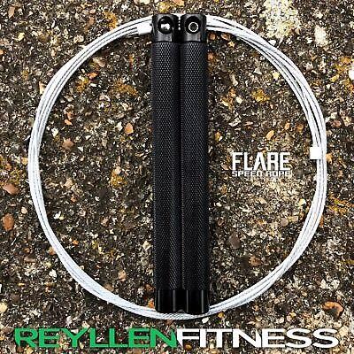 Reyllen ™ Flare Speed Jump Rope RPM pour Crossfit Fitness Exercice Entraînement UK