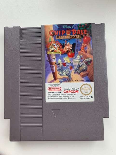CHIP AND DALE RECUE RANGERS, NES, action,…