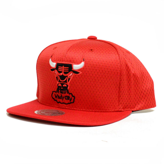 57a35e3c3ae Mitchell and Ness Chicago Bulls Michael Jordan Jersey Mesh Snapback Cap Hat  NBA