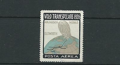 Italien 1926 Volo Transpolare Amundsen Nobile Ellsworth Airpost Vf Mnh Posten 1 Briefmarken Italien & Kolonien