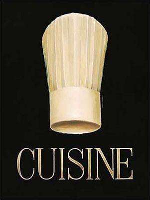 Marco Fabiano: Gourmet Chef Keilrahmen-Bild Leinwand Küche Essen Esszimmer