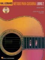 Hal Leonard Metodo Para Guitarra Libro 2 - Spanish Edition Book Cd Pac 000697367