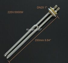 """Stainless Steel Electrical Heating Element Booster Tube For Water Boiler 1/""""//DN2"""