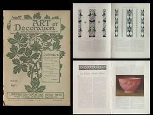 Art Et Decoration 03 1912 - Maurice Pillard Verneuil, Andre Methey