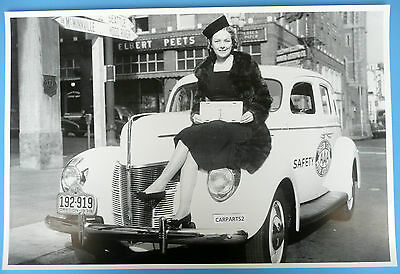 """1st 1940 Ford To Be Registered In Oregon  12 X 18"""" Black & White Picture"""