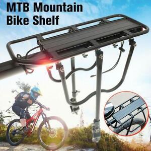 Bicycle-Mountain-Bike-Rear-Rack-Seat-Post-Mount-Pannier-Luggage-Carrier-Metallic