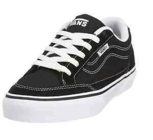 4e0c08925cf8c9 VANS VN-0DT0BZW BEARCAT Yth s (M) Black White Suede Canvas Skate ...