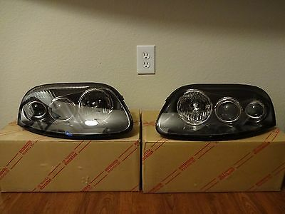New Toyota Supra 1998 Driver Side Headlight   Rare   Discontinued   Free  Ship