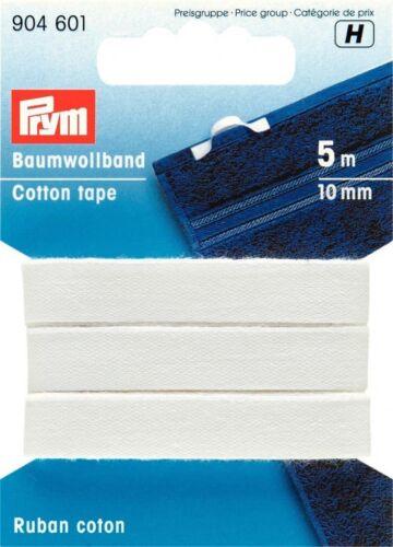 Prym Plain ruban de coton-Chaque 904600-M