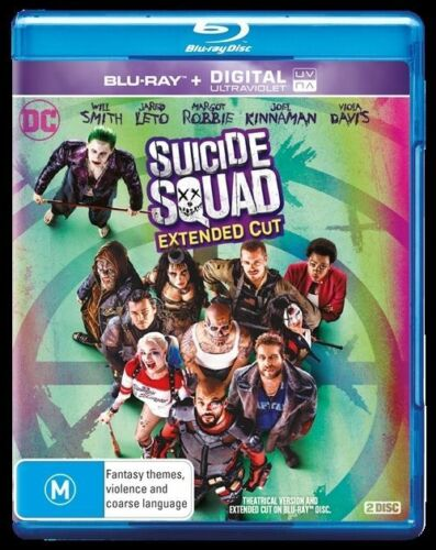1 of 1 - Suicide Squad (Blu-ray Only, No UV) Action, Fantasy Will Smith, Jared Leto
