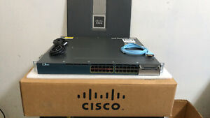CISCO-3560X-24P-S-Catalyst-24-Port-Layer-3-PoE-IP-Base-Switch-WS-C3560X-24P-S