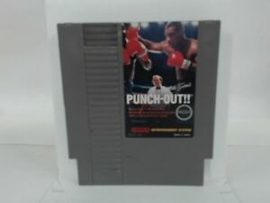 MIKE-TYSON-039-S-PUNCH-OUT-NES-Nintendo-Good