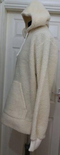 Nuova Sherbet Cream Zip Fleece Sherpa Half Xl Clothing 6ApAZRqF