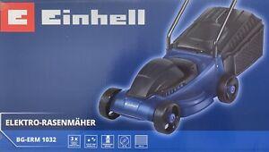 Einhell BG-ERM 1032 Elektro Rasenmäher 1000 W 32 cm Schnittbreite 3x verstellbar