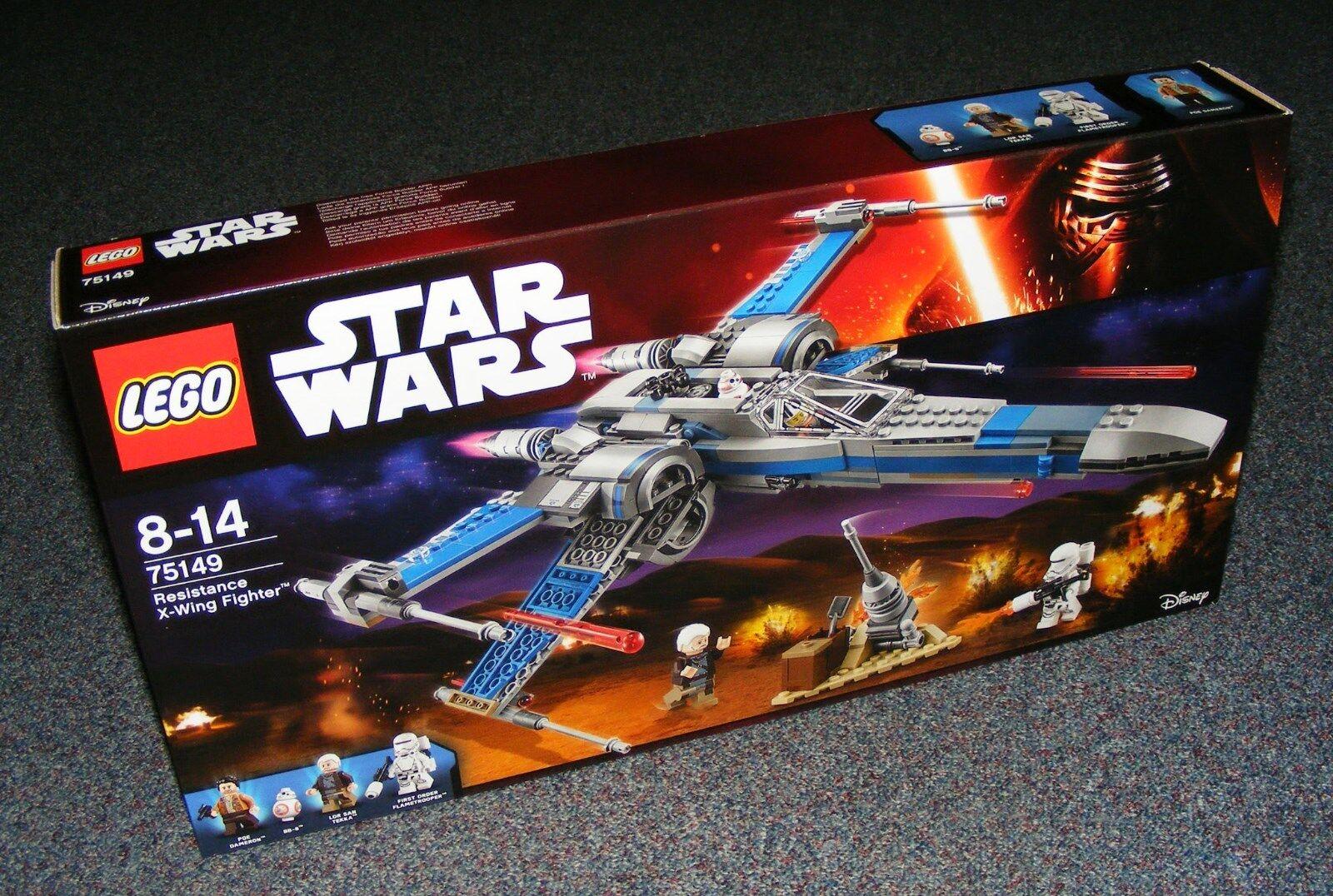 STAR WARS LEGO 75149 RESISTANCE X-WING FIGHTER BRAND NEW SEALED BNIB